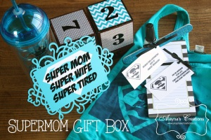 Super Mom Gift Box Mothers Day New Baby