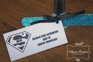 Supermom Gift Box Nail Polish Nail File Pamper