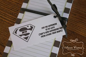 Supermom Gift Box To Do List Notebook