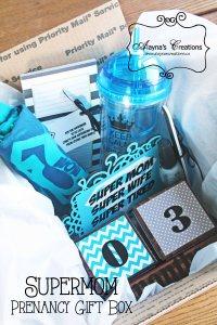Supermom Pregnancy Gift Box