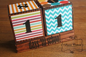 Teacher Appreciation Countdown to School Blocks