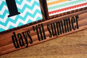 Teacher Appreciation Days Til Summer Countdown