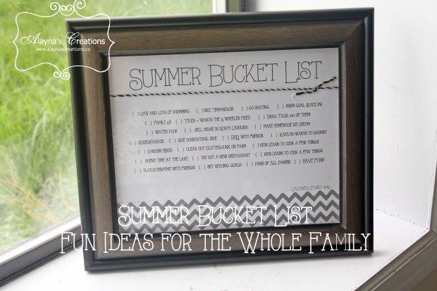 Bucket List Fun Summer Ideas for the Family