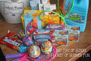 Gift Basket Summer Fun Last Day of School