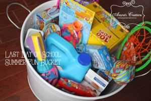 Last Day of School Summer Fun Bucket A