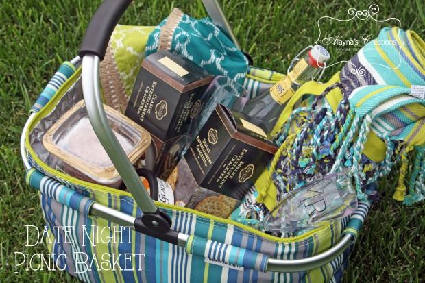 Picnic Basket Gift Idea for Wedding