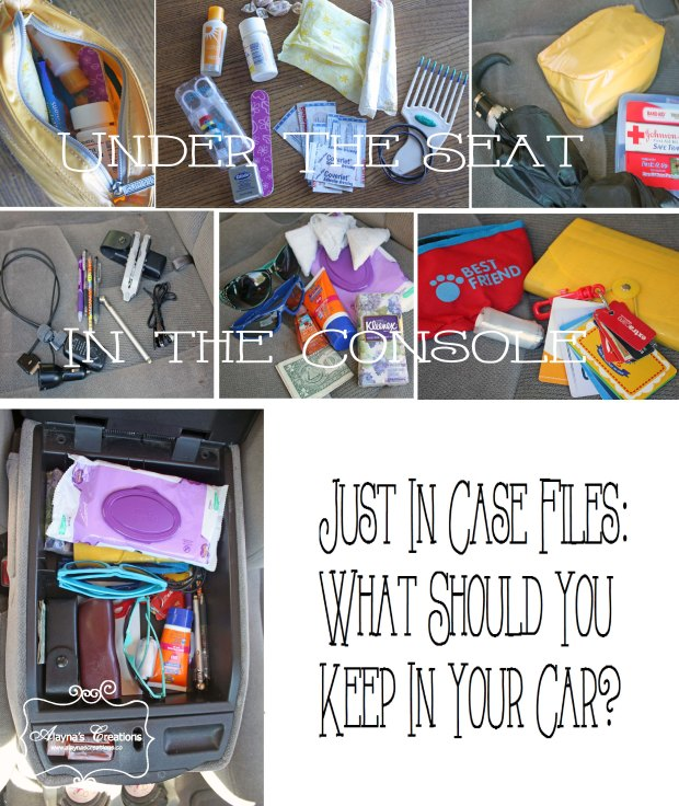 Just In Case What should you keep in your car Be prepared for summer