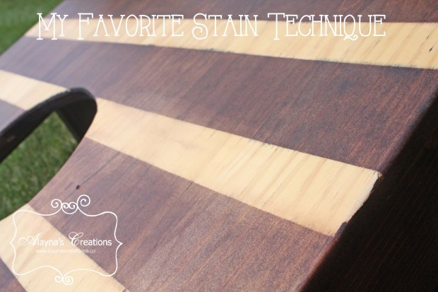 My Favorite Stain Technique How to get this look yourself DIY Corn Hole Boards