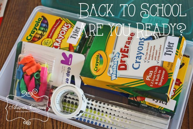 Back To School Are You Ready A look at how I get my kids all ready for school with school supplies shopping lunchbox ideas gifts for the teacher and more