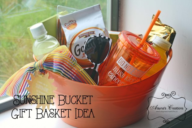 Get Well Gift Basket Idea Sunshine Bucket