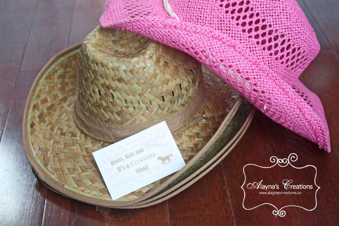 Horse Cowgirl Party Favors Pink and Brown Cowboy Hats It's a Cowgirl Thing