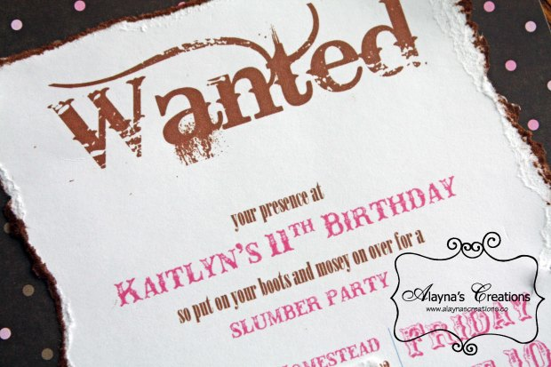 Horse Themed Birthday Party Invitations Wanted