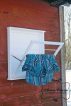 Laundry Drying Rack Wall Mounted Fold Down
