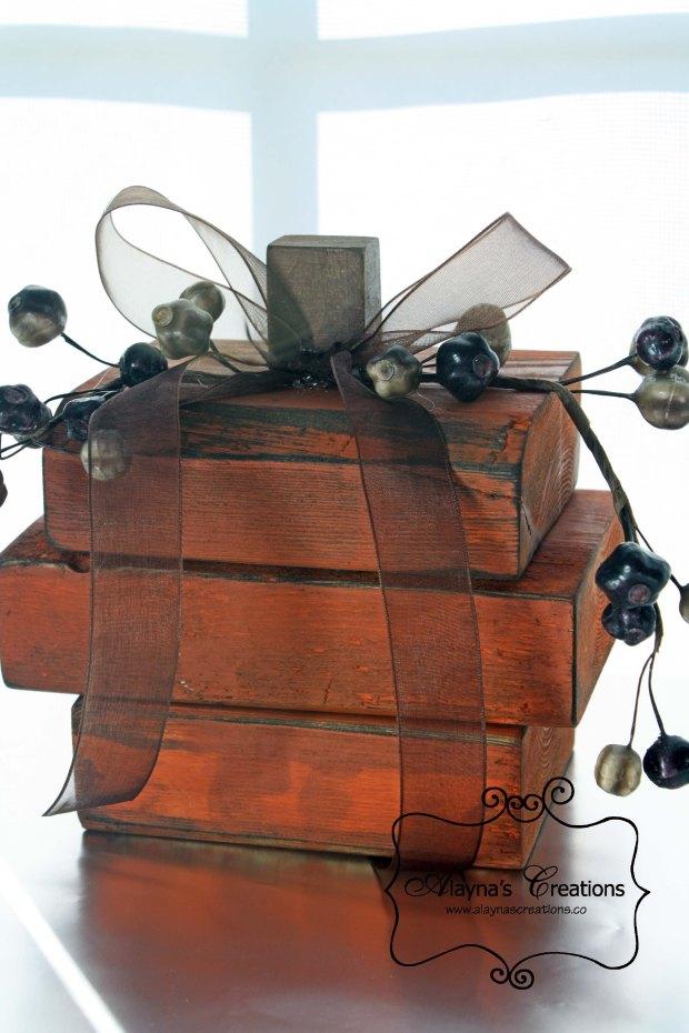 Rustic Wooden Pumpkins Tutorial