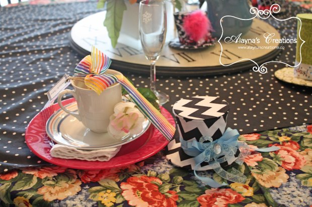Mad Hatter Tea Party Place Setting