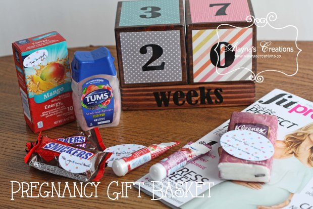 Pregnancy Gift Basket Idea for anyone expecting a new baby