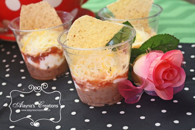 Tea Party Individual 7 Layer Dip
