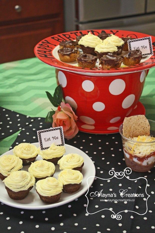 Tea Party Tiny Tea Cakes