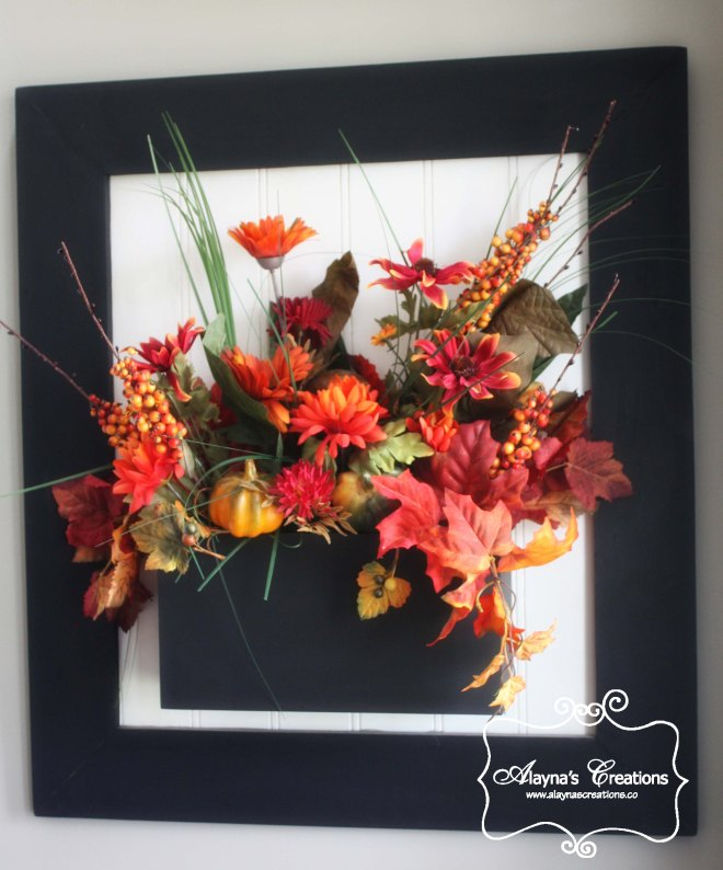 Fall Window Box Interior Wall Decorations DIY Project
