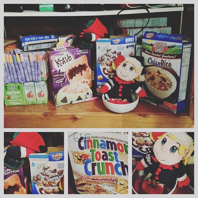Elf on the Shelf Elf Christmas Cereal