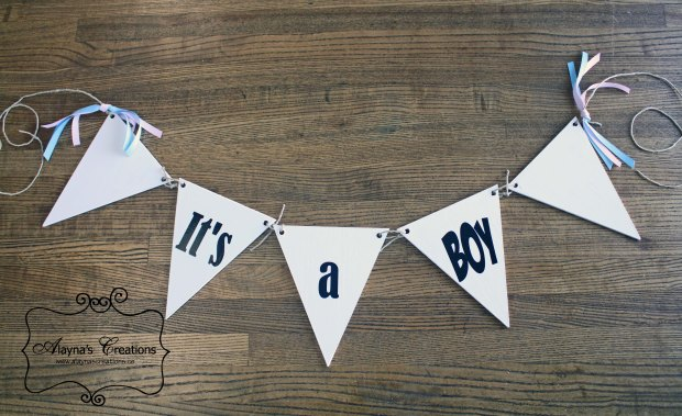 It's a boy It's a girl photo prop for gender reveal or new baby announcement makes a great baby shower gift