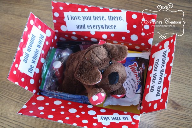 Care Package Idea for Deployment or Long Distance Relationship Get the kids involved AlaynasCreations