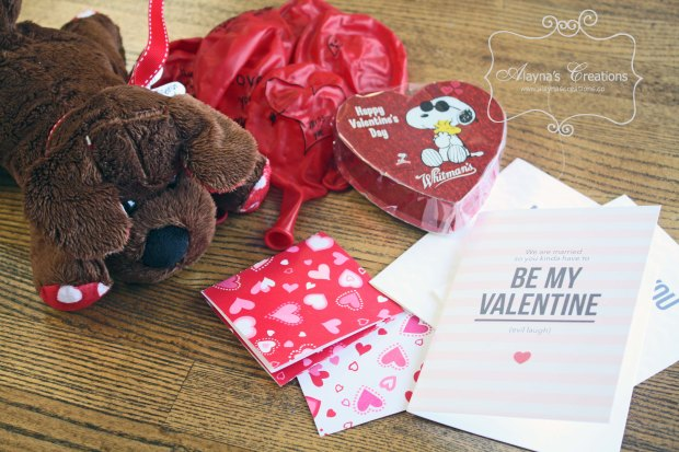 Open When It's Valentine's Day Open When Envelopes for Care Package Long distance Valentines gift idea AlaynasCreations