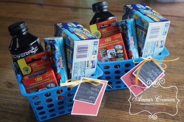Teacher Appreciation Gift Basket Super Power Teacher