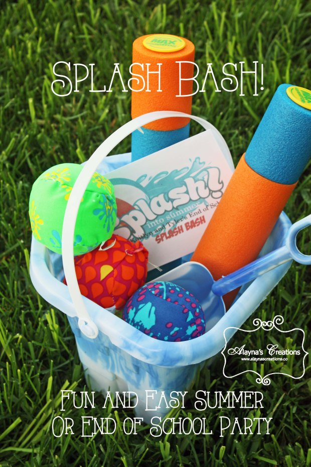 Splash Bash Fun and Easy Summer party or end of the school year party Alaynas Creations