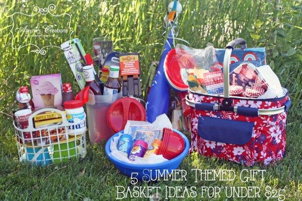 5 Summer Themed Gift Basket Ideas for Under $25