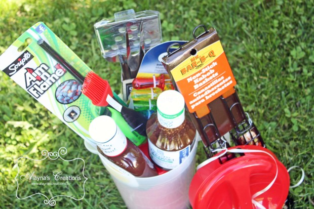 BBQ Themed Summer Gift Basket Idea