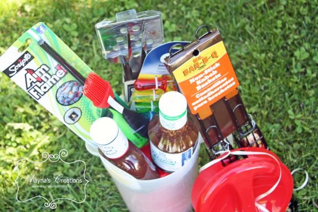 BBQ Themed Summer Gift Basket Idea