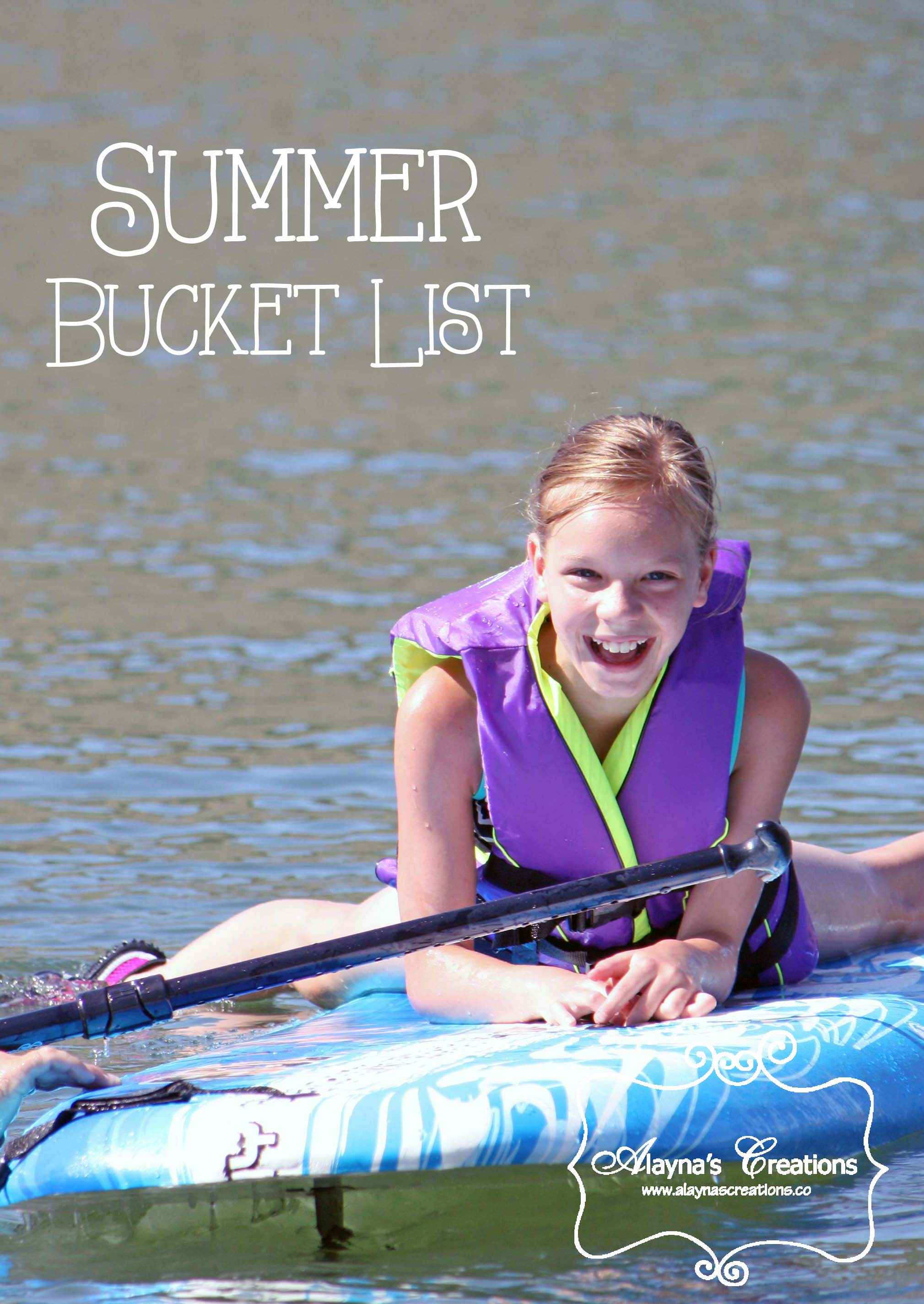 Summer Bucket List 2016 Fun ideas for getting out and enjoying summer with the kids AlaynasCreations