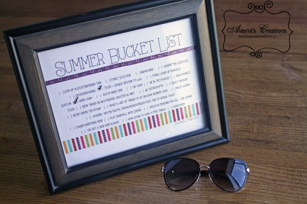 Summer Fun with the Kids Make your own bucket list of ideas for summer fun
