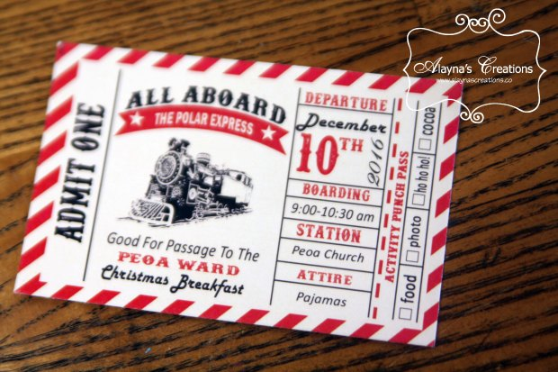 polar-express-ward-party-invitation-is-made-to-look-like-a-train-ticket-and-used-to-get-punches-at-all-the-different-stations-at-the-party