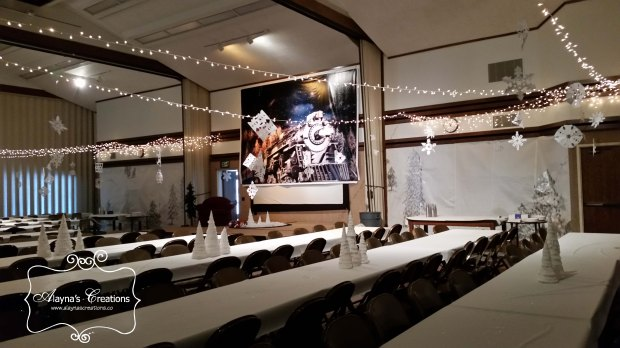 polar-express-ward-party-transformed-the-church-into-a-winter-wonderland-with-a-lot-of-paper-and-silver-paint-and-a-few-twinkle-lights-alaynascreations